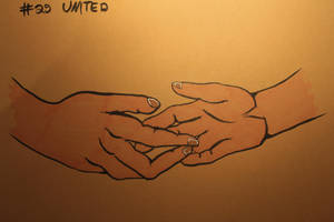 #29 United - Handshake by Frakkle-art