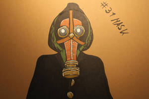 #31 Mask - Gasmask Plague Doctor by Frakkle-art