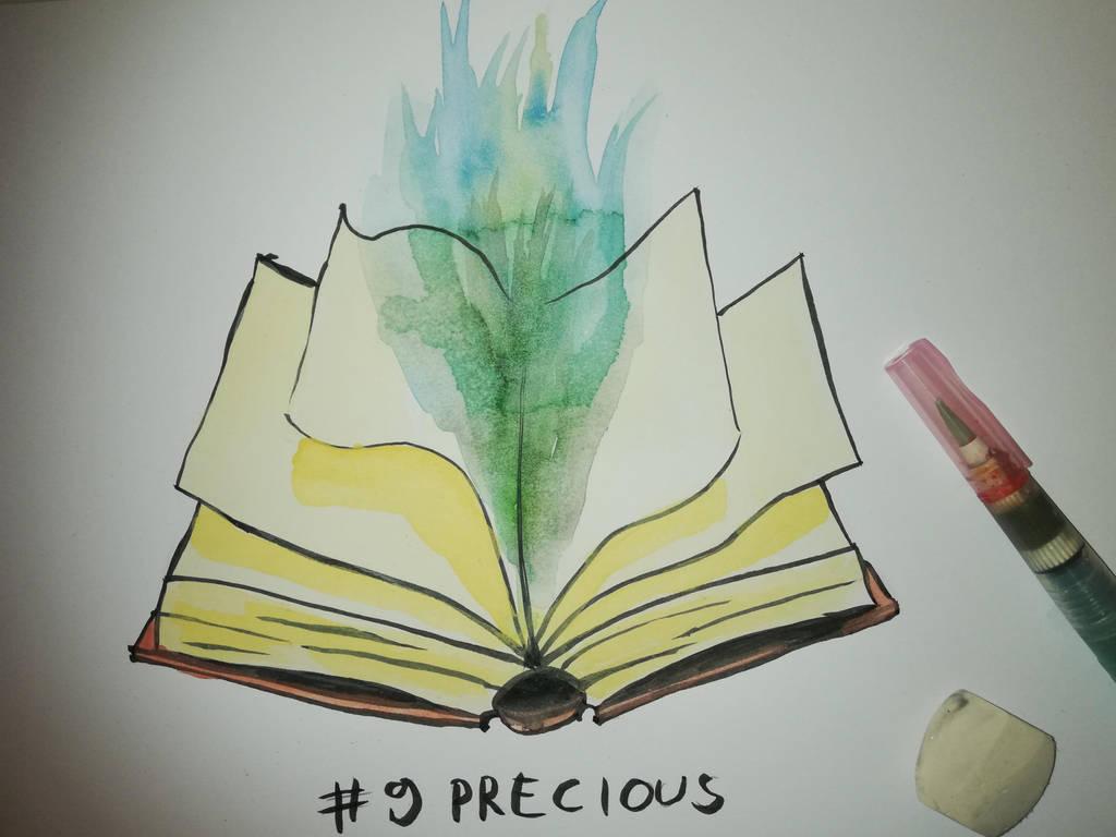 9 Precious by Frakkle-art