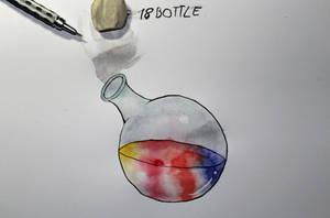 18 Bottle by Frakkle-art