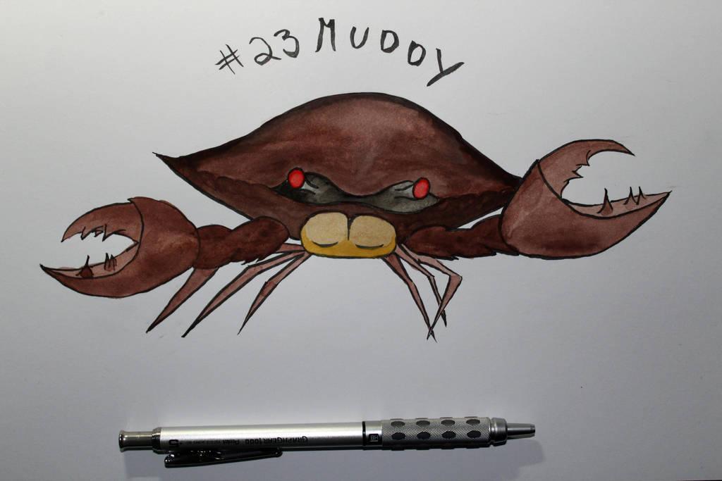 23 Muddy by Frakkle-art