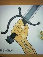 24 Chop by Frakkle-art