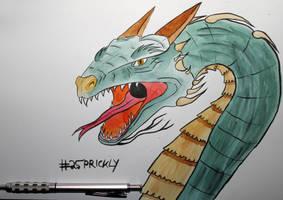 25 Prickly by Frakkle-art