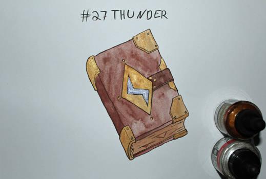 27 Thunder by Frakkle-art