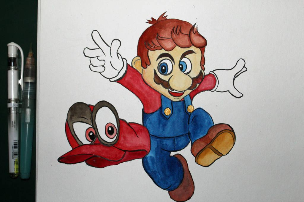 Mario by Frakkle-art