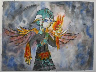 Elementalist by Frakkle-art