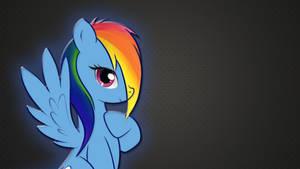 Rainbow Dash Wallpaper by RainbowDashRocks101