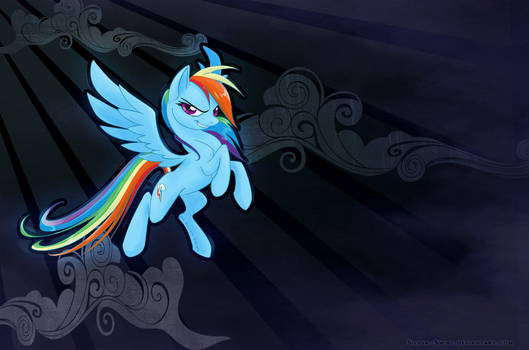 Rainbow Dash Wallpaper3 by RainbowDashRocks101