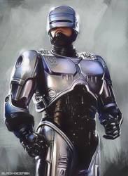 Robocop by black-dicefish