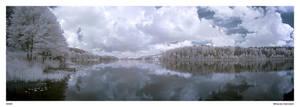 Lake in IR by Maciej-Koniuszy