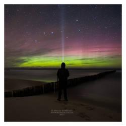 Aurora Borealis by Maciej-Koniuszy