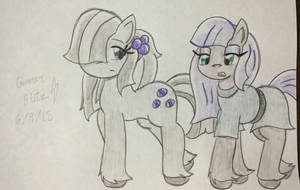 Marble and Maud Hang out by GManGamer25