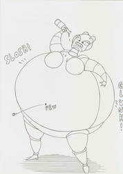 beerbelly explore beerbelly on deviantart Pepper Gut rumpuboy4 32 17 fembot beer belly by robot001