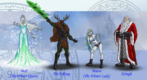 Dresden Files characters 5 by wildcard24