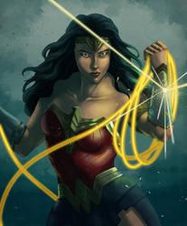 Wonder Woman by wildcard24
