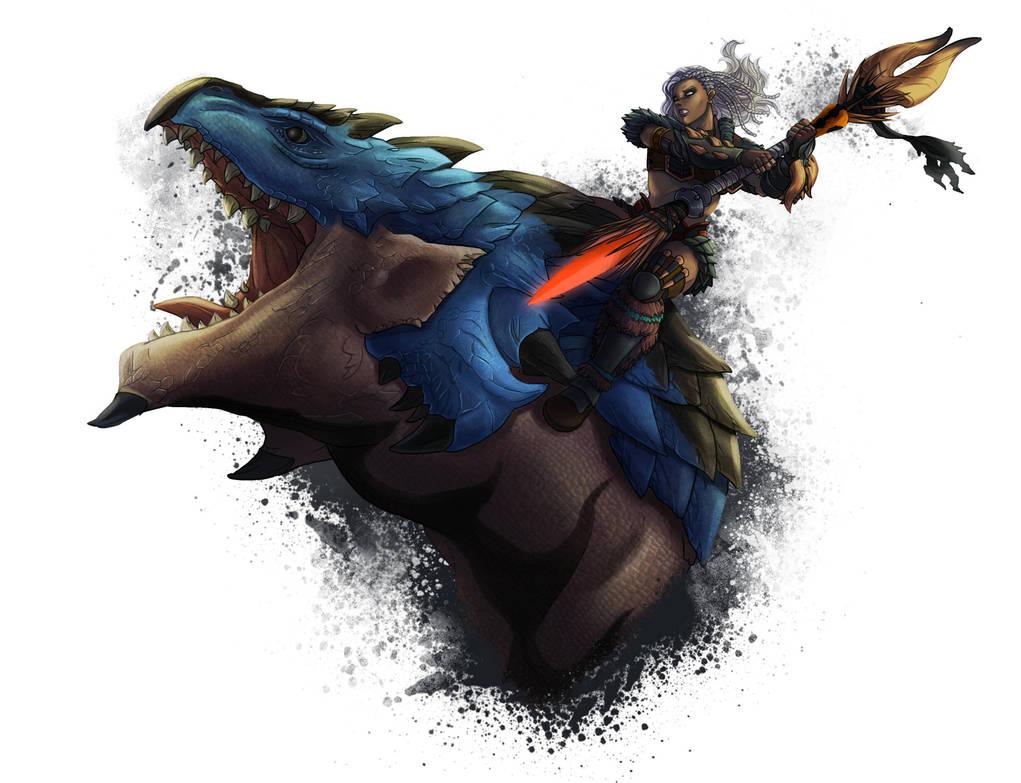 Monster Hunter World by wildcard24