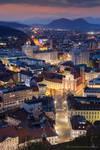 Castle View Ljubljana by BerarAdrian