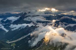 View from Mt. Mangart 1 by BerarAdrian