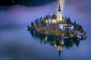 Lake Bled Island by BerarAdrian