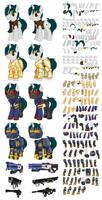 Deckard Spade Puppet by CrownePrince