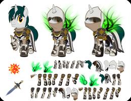 Deckard Spade Diablo 3 Puppet by CrownePrince