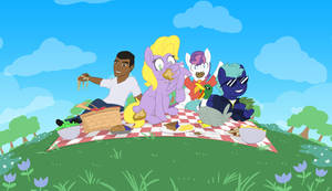 Anthology Picnic by CrownePrince