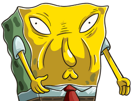 Spongebob - Too Much Sauce by CrownePrince