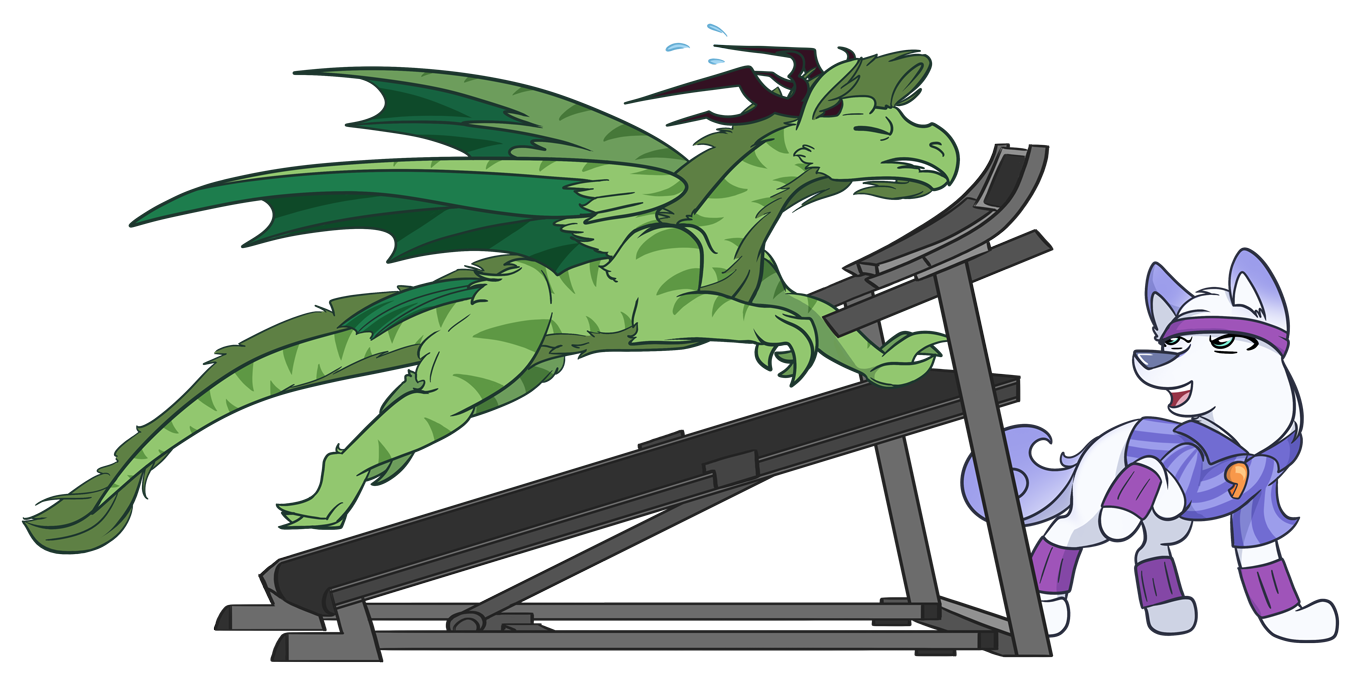 Dragon Workout by CrownePrince