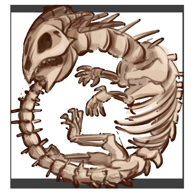 Bone Ouroboros by CrownePrince