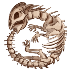 Bone Ouroboros by CrownePrince
