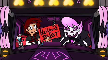 Hellbent Review Title Card by CrownePrince