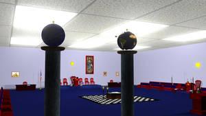 Masonic Lodge Room Lit by OLDDOGG