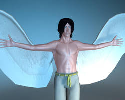 Raphael The Angel: 3D Model by OLDDOGG