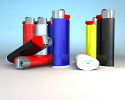 Lighters by OLDDOGG