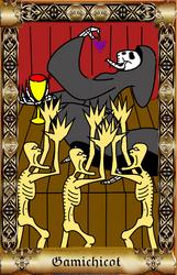Kult - Tarocitum - Gamichicot by DancingDemonArt