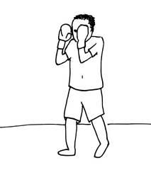 Thai boxer by sneakys