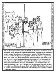 GENESIS ch 7 v 11-16 by BIBLE-PROJECT