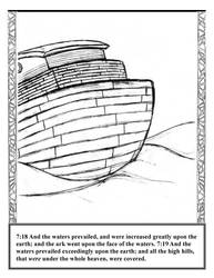 GENESIS ch7 v18-19 by BIBLE-PROJECT