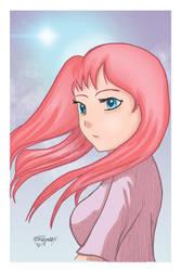 Anime Girl by twm1962