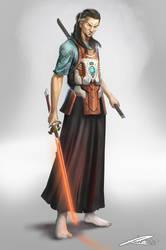 Old Swordsman  by Whiteghul