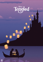 Tangled -Illustration Poster by strdusts