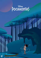 Pocahontas - Illustration Poster by strdusts