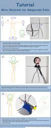 Tutorial: Wire Skeleton For Amigurumi Dolls by janey-in-a-bottle