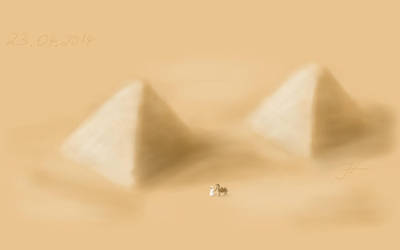 Pyramids by janey-in-a-bottle