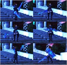 chakaru11: TERA ascension/crystal weapon set by chakaru
