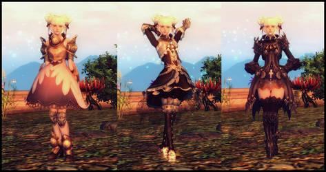 chakaru11 - 3 Elin outfits for TES4 Oblivion by chakaru