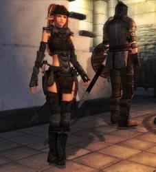 TES4 Oblivion Vagabond armor release by chakaru