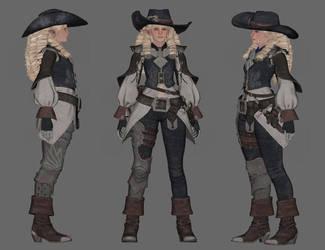 TES4 Oblivion Port: Asker Online Musketeer by chakaru