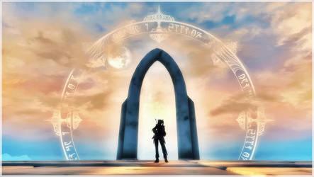TES 4 Oblivion - The Gate by chakaru