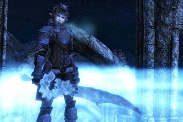 TES 4 Oblivion - Icefang by chakaru